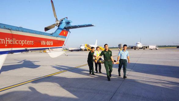 Hàng loạt bệnh viện xây bãi đáp, chuẩn bị cấp cứu bằng trực thăng - Ảnh 3.