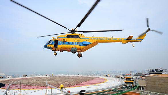 Hàng loạt bệnh viện xây bãi đáp, chuẩn bị cấp cứu bằng trực thăng - Ảnh 1.
