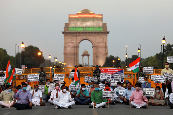Biểu tình chống Trung Quốc lan ra nhiều tỉnh thành Ấn Độ - Ảnh 3.