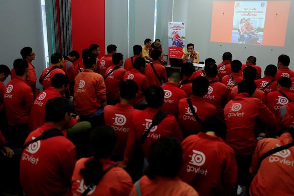 GoViet phối hợp với Công an TP.Hà Nội tập huấn, đào tạo cho đối tác tài xế - Ảnh 2.