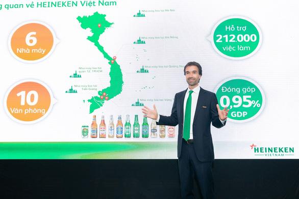 Heineken Việt Nam công bố Báo cáo Phát triển Bền vững lần thứ 6 - Ảnh 1.