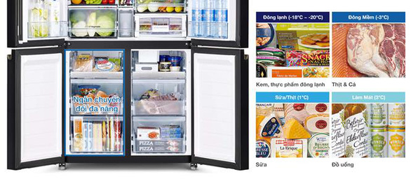 Hitachi ra mắt tủ lạnh 4 cửa R-WB640VGV0 với Ngăn Chân Không độc đáo - Ảnh 3.