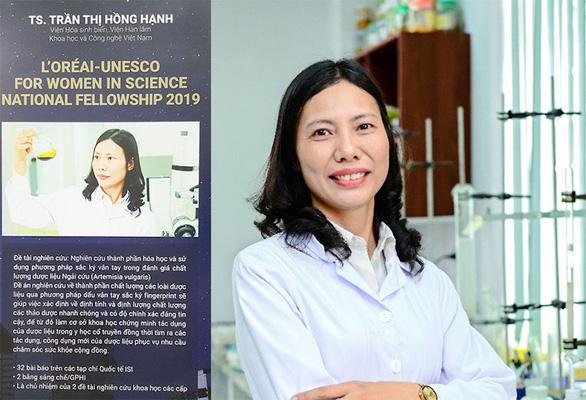 Ba phụ nữ Việt lọt top 100 nhà khoa học tiêu biểu châu Á - Ảnh 2.