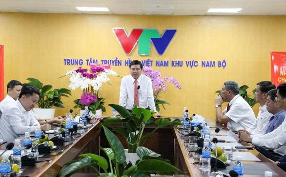 Lãnh đạo TP.HCM thăm cơ quan báo chí nhân Ngày báo chí Việt Nam - Ảnh 3.
