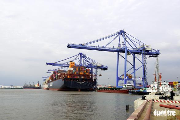 Cảng Cái Mép - Thị Vải phải nổi lên đón siêu tàu - Ảnh 2.