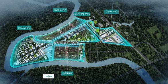 Có gì ở năm phân khu chức năng của thành phố bên sông Waterpoint? - Ảnh 1.