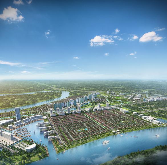 Có gì ở năm phân khu chức năng của thành phố bên sông Waterpoint? - Ảnh 2.