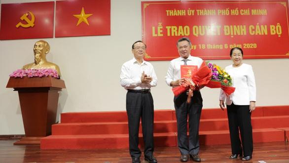 Ông Phạm Quốc Bảo giữ chức bí thư Đảng ủy Tổng công ty Điện lực TP.HCM - Ảnh 1.