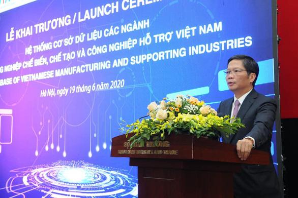 Công bố dữ liệu lớn nhất về doanh nghiệp chế biến chế tạo, công nghiệp hỗ trợ - Ảnh 1.