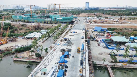 Khu đô thị Thủ Thiêm sẽ đặt, đổi tên một số cầu, đường mới - Ảnh 1.