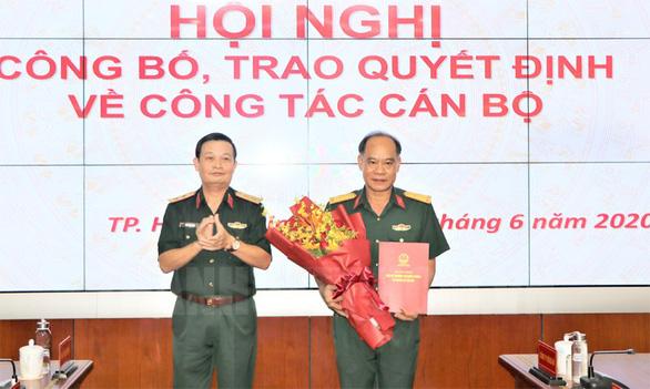 Đại tá Hoàng Đình Chung làm chủ nhiệm chính trị Quân khu 7 - Ảnh 1.