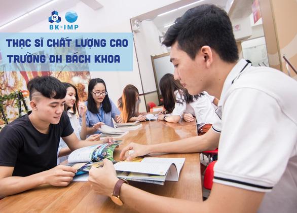 Trường ĐH Bách Khoa tuyển sinh Thạc sĩ Chất lượng cao, học bổng lên đến 75% - Ảnh 1.