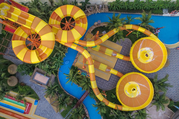 Khám phá công viên chủ đề lớn nhất Việt Nam - Ảnh 4.