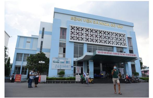 Cách chức giám đốc Bệnh viện Gò Vấp Phạm Hữu Quốc - Ảnh 1.