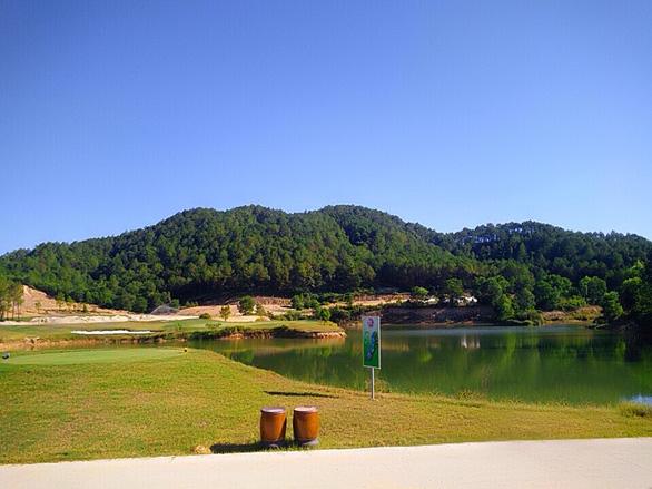 Thừa Thiên Huế yêu cầu dừng thi công sân golf Thiên An - Ảnh 1.