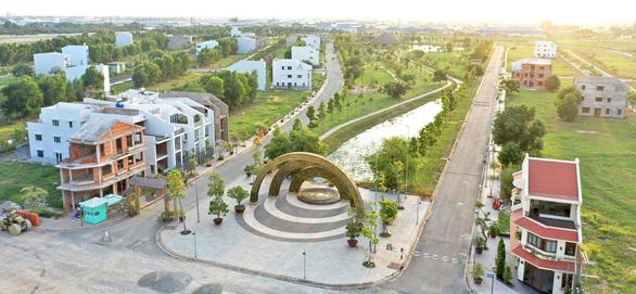 Dự án Làng Sen Việt Nam tăng tốc trở thành Khu đô thị kiểu mẫu của khu Tây - Ảnh 1.
