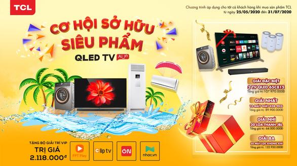 Cơ hội sở hữu siêu phẩm QLED AI TV từ TCL - Ảnh 1.