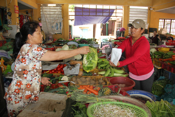 Đà Nẵng sẽ thí điểm mô hình chợ đô thị không sử dụng túi nilông - Ảnh 1.