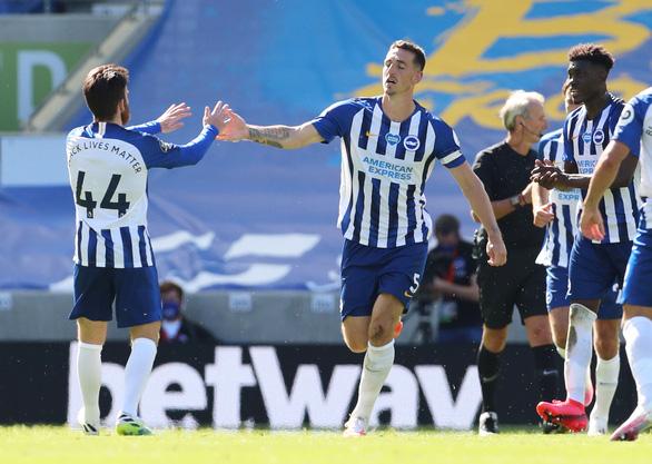 Thua ngược Brighton phút cuối, Arsenal cạn hi vọng vào tốp 4 - Ảnh 2.