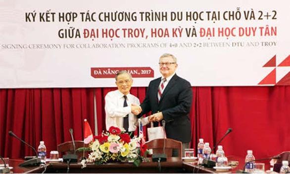 Học và lấy bằng Đại học Mỹ ở Việt Nam: Du học tại chỗ ở DTU - Ảnh 1.