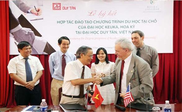 Học và lấy bằng Đại học Mỹ ở Việt Nam: Du học tại chỗ ở DTU - Ảnh 2.