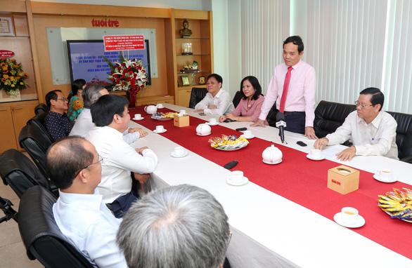 Phó bí thư Trần Lưu Quang: Mong Tuổi Trẻ luôn được người dân tìm đến thông tin chính thống - Ảnh 2.