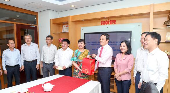 Phó bí thư Trần Lưu Quang: Mong Tuổi Trẻ luôn được người dân tìm đến thông tin chính thống - Ảnh 3.