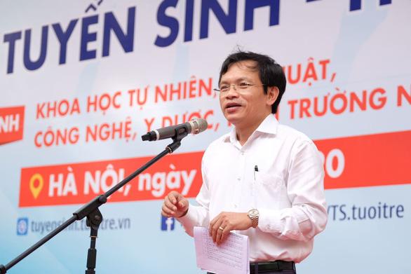 Sáng nay, báo Tuổi Trẻ tư vấn tuyển sinh ở TP.HCM, Hà Nội, Đà Nẵng - Ảnh 5.