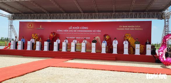 Thủ tướng nhấn nút khởi công xây công viên chủ đề 1 tỉ USD lớn nhất Việt Nam - Ảnh 1.