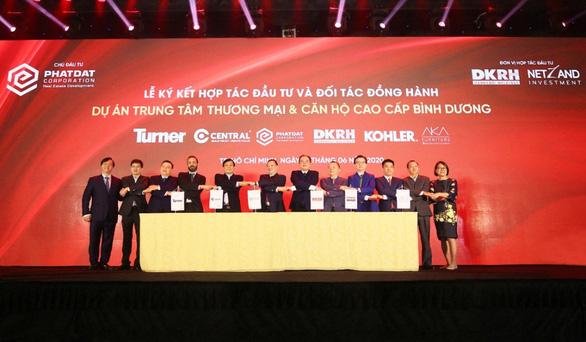 Phát Đạt - Danh Khôi hợp tác đầu tư dự án Trung tâm thương mại & Căn hộ cao cấp Bình Dương - Ảnh 1.