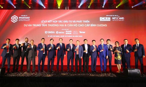Phát Đạt - Danh Khôi hợp tác đầu tư dự án Trung tâm thương mại & Căn hộ cao cấp Bình Dương - Ảnh 2.