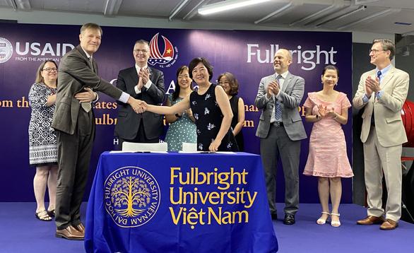 Đại học Fulbright Việt Nam nhận thêm tài trợ 4,65 triệu USD - Ảnh 1.