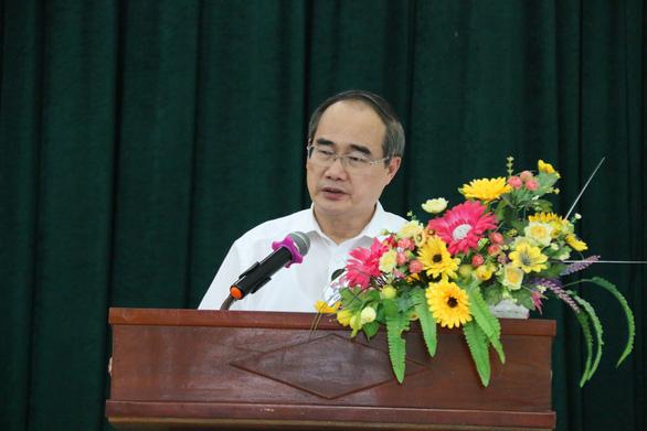 Bí thư Nguyễn Thiện Nhân đề nghị sớm công bố quy hoạch khu đô thị lấn biển Cần Giờ - Ảnh 1.