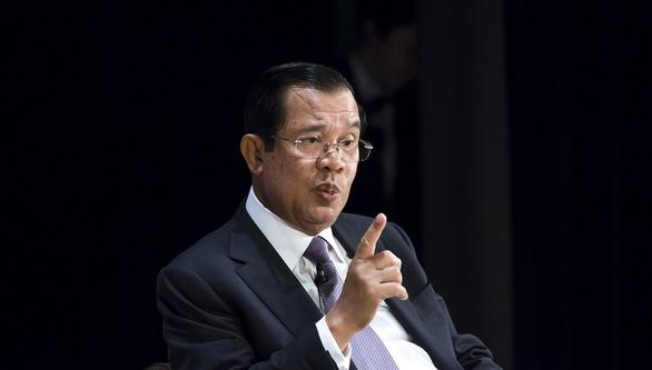 Ông Hun Sen: Ai đủ sức thay tôi thì bước ra đây? Chả có ai hết! - Ảnh 1.