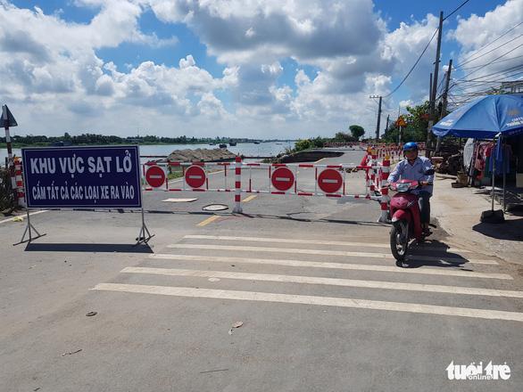 165 tỉ đồng khởi động dự án khắc phục sạt lở quốc lộ 91 - Ảnh 3.