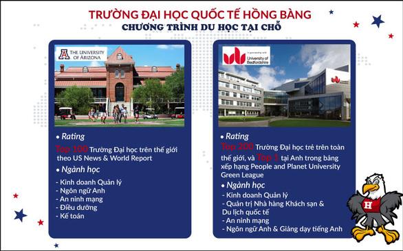 Năm 2020 Đại học Quốc tế Hồng Bàng dành 200 chỉ tiêu cho chương trình du học tại chỗ - Ảnh 2.