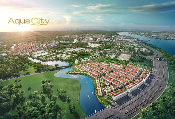 Giới đầu tư đón cơ hội từ phân khu cửa ngõ đô thị Aqua City - Ảnh 1.