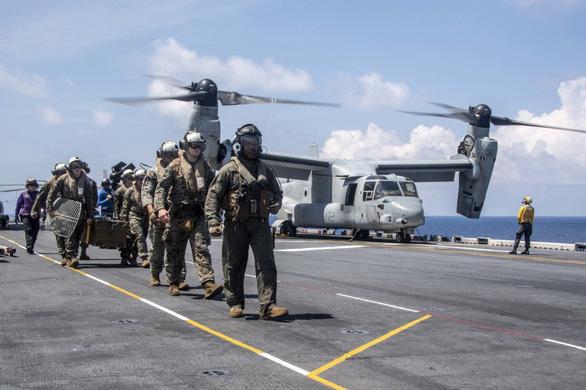 Trung Quốc cho rằng Mỹ đang triển khai phần lớn quân đội đối phó mình - Ảnh 1.
