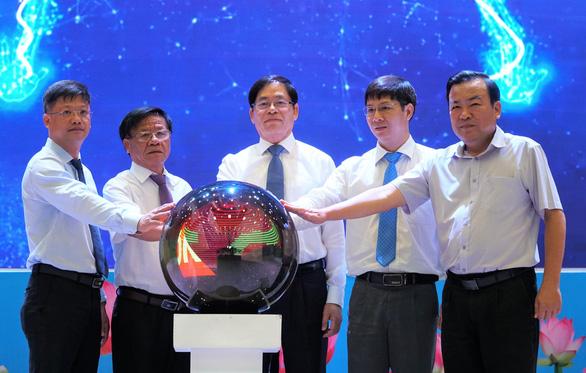 Tây Ninh ra mắt cổng thông tin Đảng bộ tỉnh - Ảnh 3.