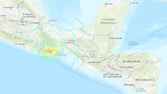Động đất 7,4 độ Richter rung chuyển Mexico, đã cảnh báo sóng thần - Ảnh 1.