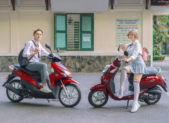 SYM ra mắt nhiều mẫu xe 50cc mới dành cho bạn trẻ - Ảnh 2.