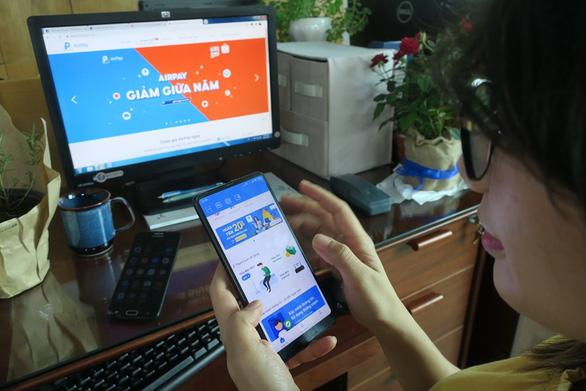 Ví điện tử tăng tốc chinh phục thị trường - Ảnh 1.