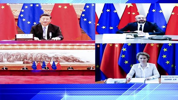 EU cảnh báo với lãnh đạo Trung Quốc sẽ gặp các hậu quả tiêu cực nếu thúc đẩy dự luật an ninh - Ảnh 1.