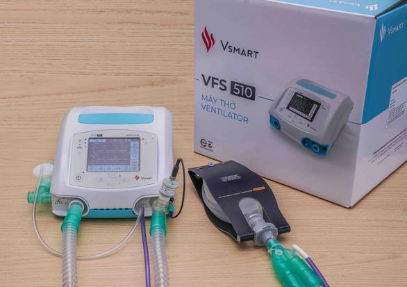 Máy thở của Vingroup được cấp số lưu hành, sản xuất đại trà - Ảnh 1.