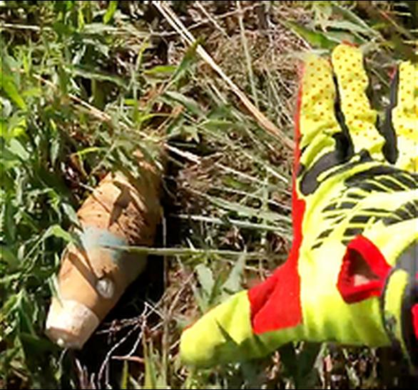 Phát hiện đạn cối trên khu vực chạy marathon có vận động viên bị lũ cuốn tử vong - Ảnh 1.