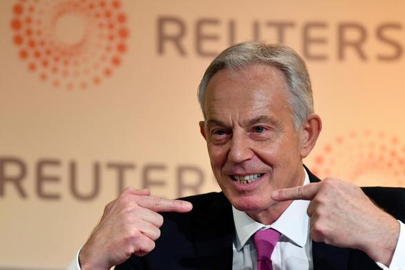 Cựu thủ tướng Tony Blair: Anh phải theo phe Mỹ trong vấn đề Huawei - Ảnh 1.