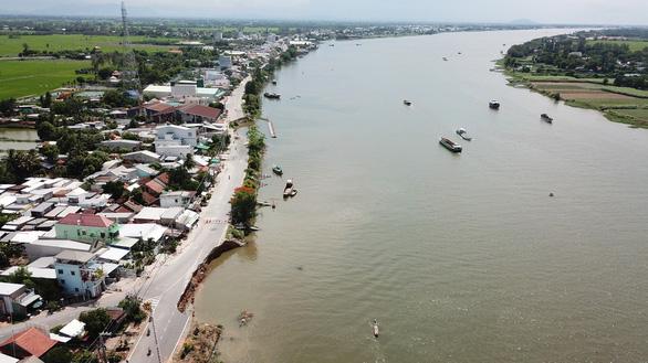 Đề xuất xã hội hóa chỉnh trị dòng chảy sông Hậu để bảo vệ quốc lộ 91 - Ảnh 1.
