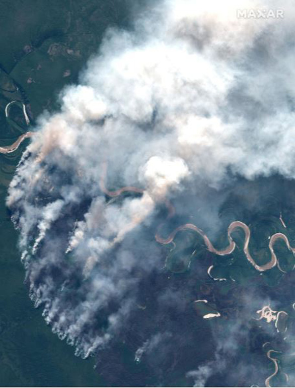 Cháy rừng bất thường ở Bắc Cực, lo khí nhà kính tăng vọt - Ảnh 5.