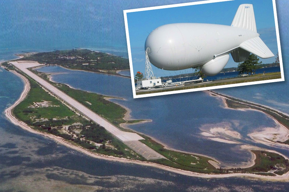 Đài Loan tính đưa khí cầu theo dõi nhất cử nhất động của Trung Quốc trên biển - Ảnh 1.