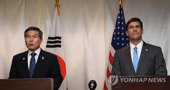 Bộ trưởng Quốc phòng Mỹ, Hàn kêu gọi Triều Tiên tuân thủ thỏa thuận hòa bình - Ảnh 1.
